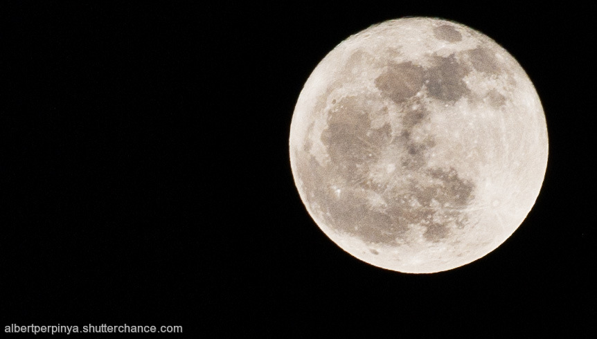 photoblog image Lluna plena / Full moon